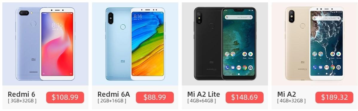 телефоны xiaomi на алиэкспресс